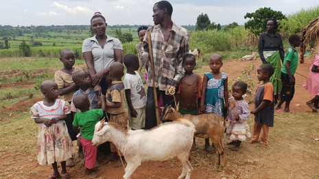 Bock auf Gutes tun Ziegenprojekt für Uganda