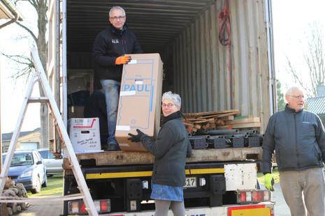6.808 kg auf dem Weg nach Uganda