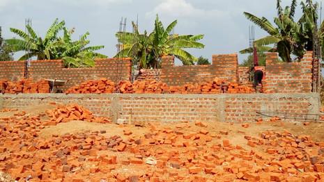 Bauarbeiten der Vorschule gehen kontinuierlich weiter hier die aktuellen Fotos