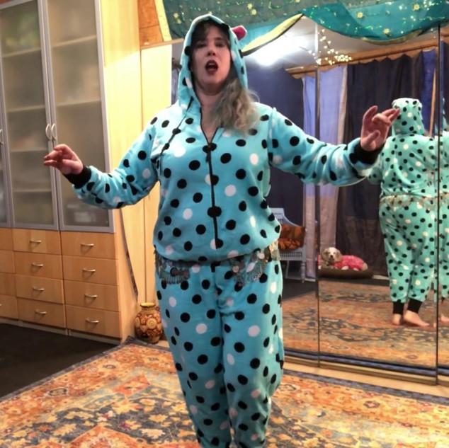 Freya's Bellydance Drills: Pajama Party