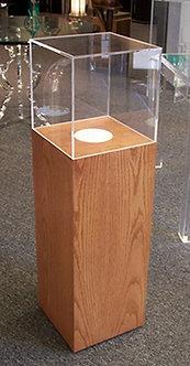 MAGGIE wood display case