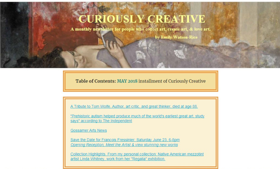 Curiously Creative: May 2018