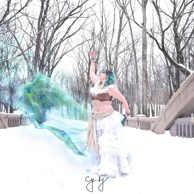 Winter Fantasy Bellydance