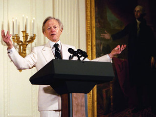 A Tribute to Tom Wolfe.  Author, art critic, and great thinker, died at age 88.