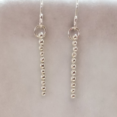 Tiny Bubbles Stick Earrings