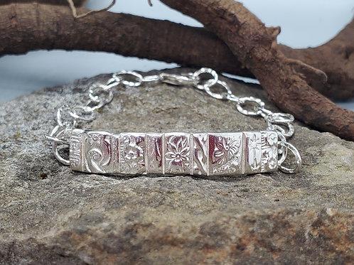 Gotham Bar & Chain Bracelet
