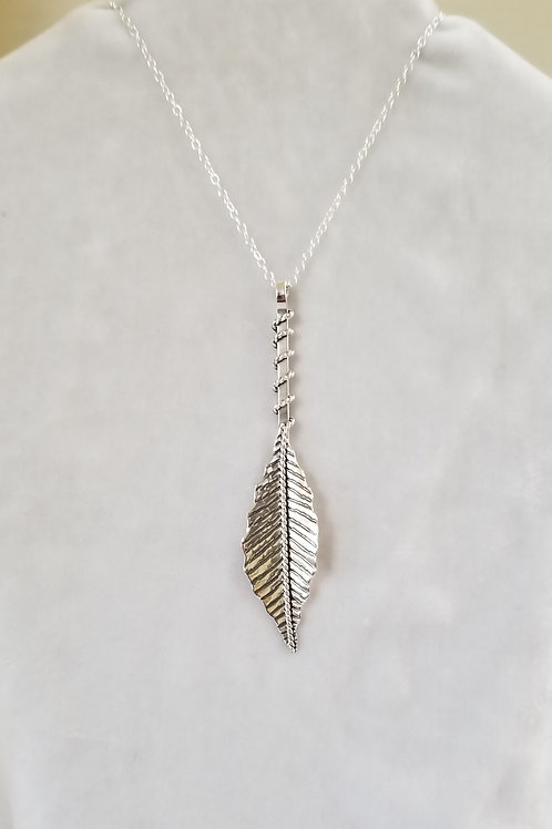 Wild Leaves, Large Leaf Pendant
