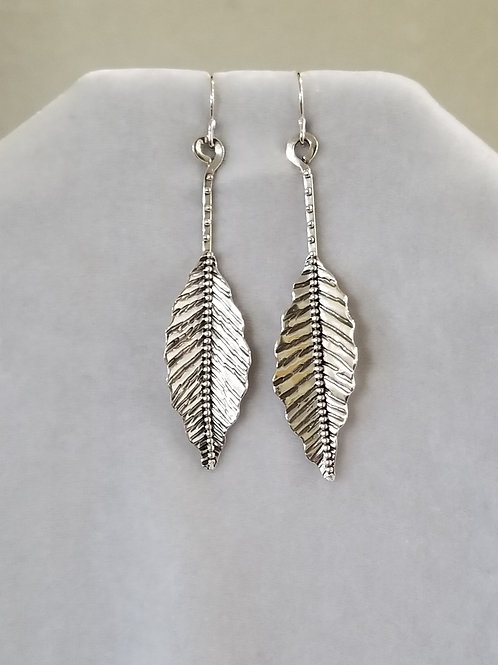 Wild Leaves Earrings, Size Large