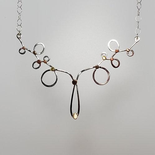 Tangles, Large Bib Necklace