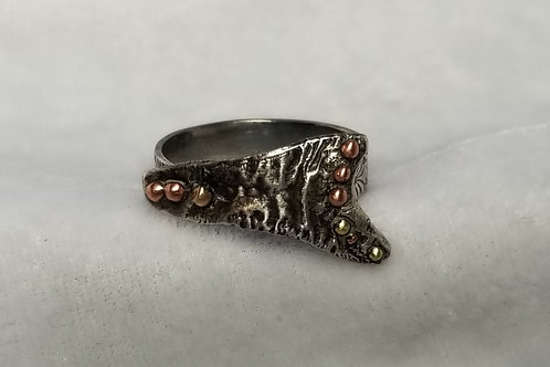Alchemy Triangle Ring, Size 7.25