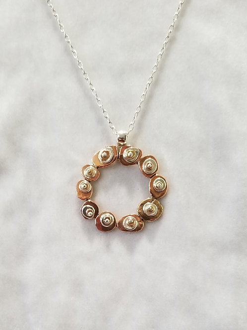 Cairns, Stepping Stones Wreath Pendant
