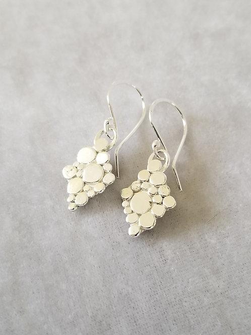 Stepping Stones, Diamond Shaped Earrings