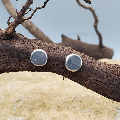 Studs, Silver Discs