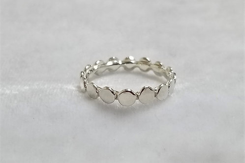 Stepping Stones Ring, Size 8.5
