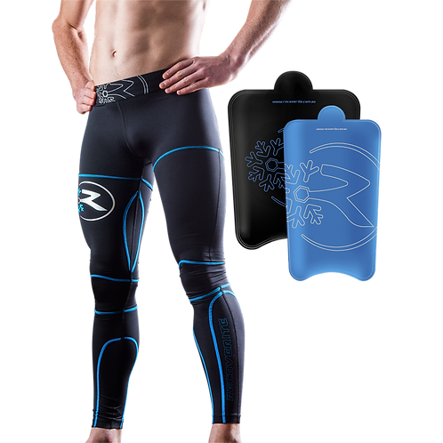 Recoverite R100 Mens Compression Tights | Sports timing systems | Freelap Australia