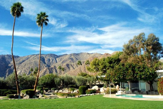 Palm Springs & Modernism Week & The Frederick Loewe Estate!