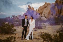 Joshua Tree + Palm Springs Elopement Tiny Weddings