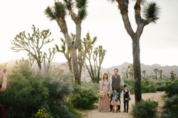 Family Joshua Tree Elopement
