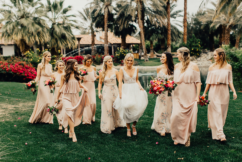 Girl Crew Desert Wedding