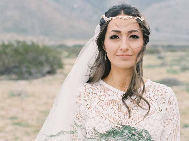 Bridal Beauty in Palm Springs