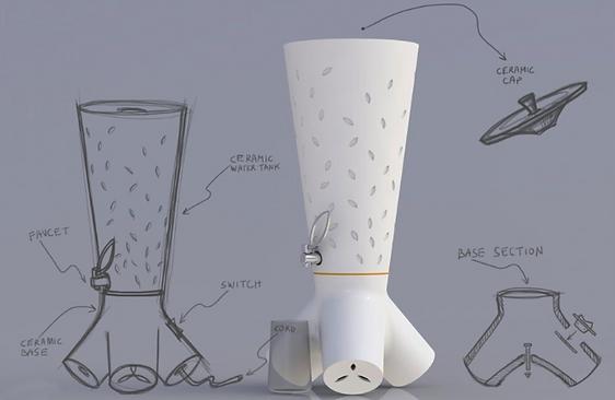 סמובר מיחם מיים | יראל יאיר מעצב מוצר רב תחומי | ירושלים