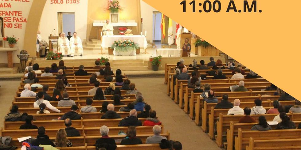 Misa Domingo 23 de Mayo - 11:00 A.M