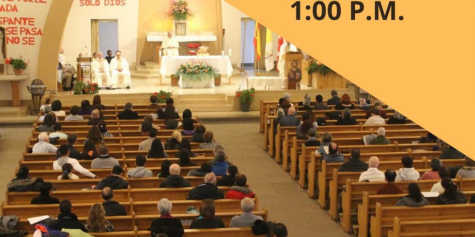 Misa Domingo 23 de Mayo - 1:00 P.M.
