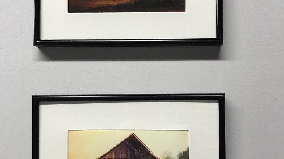 Barns from Dinosaur Series