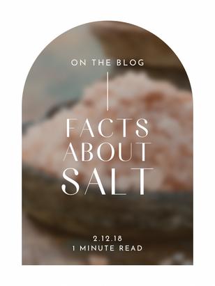 Facts about salt