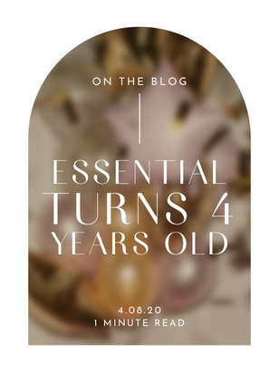 Essential hits 4 years old!
