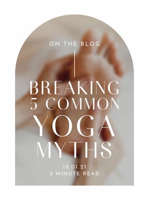 BREAKING 5 COMMON YOGA MYTHS: YOGA ISN'T JUST FOR 'HIPPIES' AND 'HOUSEWIVES'