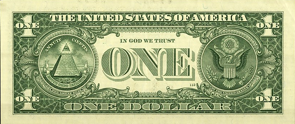 Back of U.S. One Dollar Bill.png