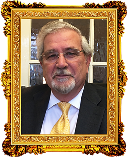 Stephen J. Spykerman in a picture frame.