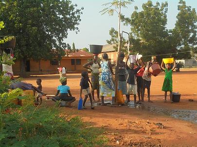 collecte d'eau au togo