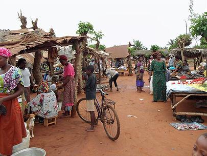 marché au Togo