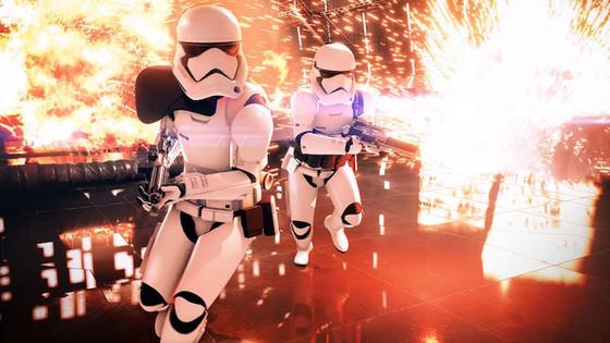 Battlefront II beta has kicked off..
