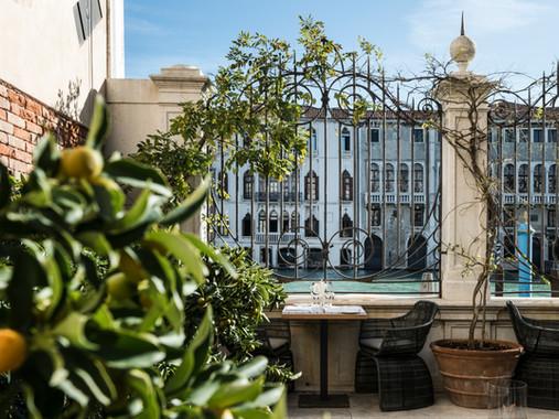 Aman Venice, Italy - Dining - Garden Ter