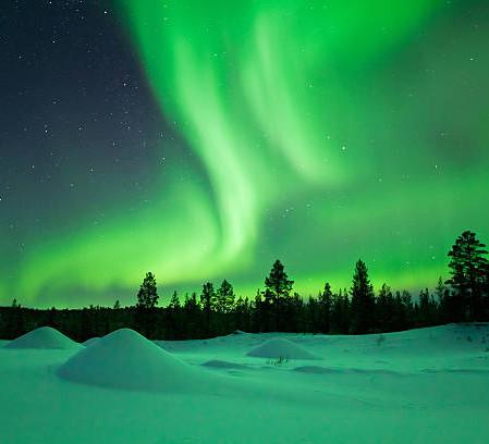 Einsamkeit und Polarlichter, Finnland