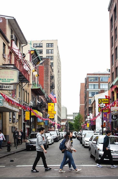 BOSTON'S INTERNATIONAL EATERIES