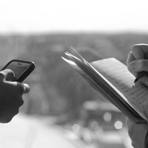 Writing without Technology