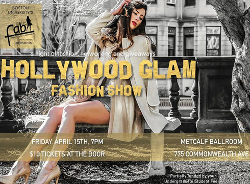 Hollywood Glam: A Preview of BU's Biggest Night for Fashion