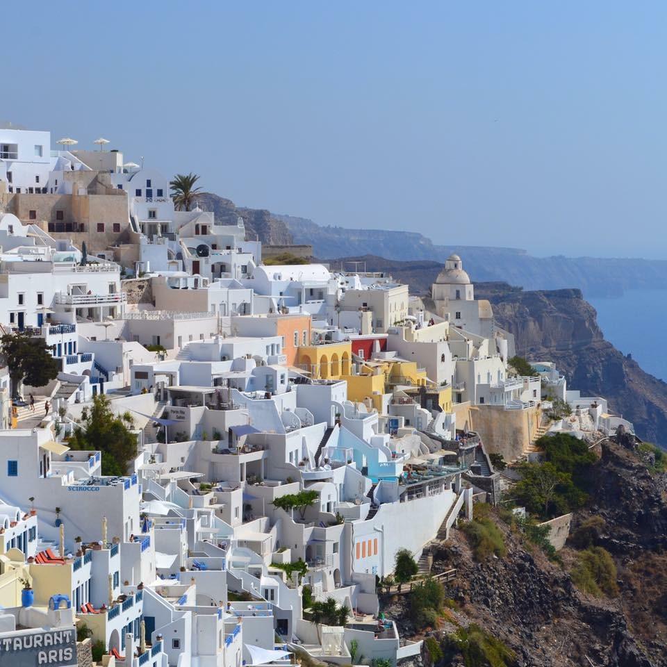 Solo Travel Part 3 Santorini