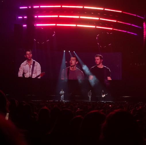 The Jonas Brothers at TD Garden