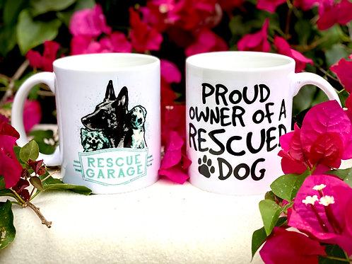 Proud Rescue RG Coffee Mug