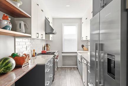 Miralis cabinets with Quartzite countertop