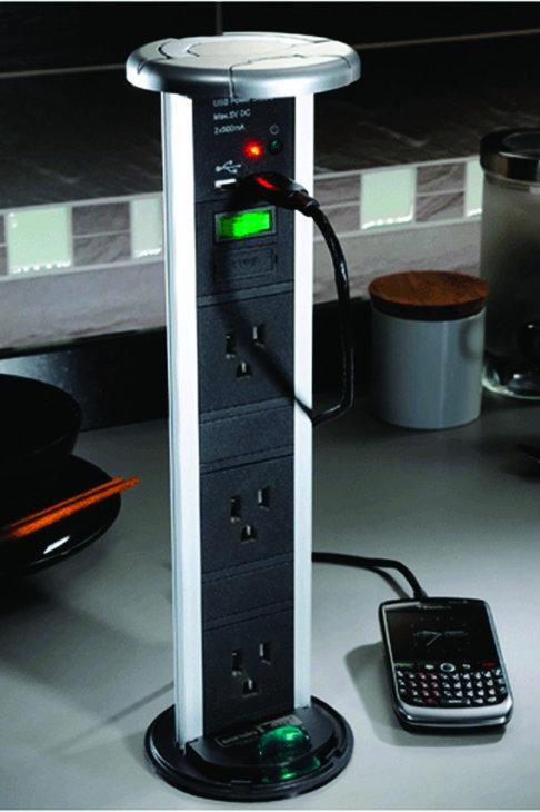 Vertical Powerdock, IP54