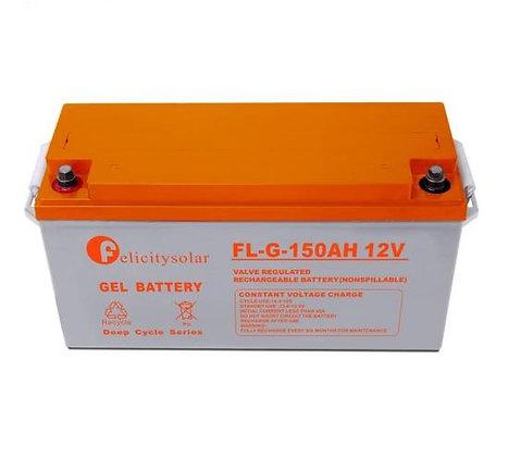 Deep Cycle Solar Gel battery 12V 150ah
