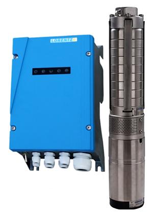 "Lorentz Pump PS2-150 C-SJ5-8 0.3KW Solar Submersible Pump System for 4"" wells"