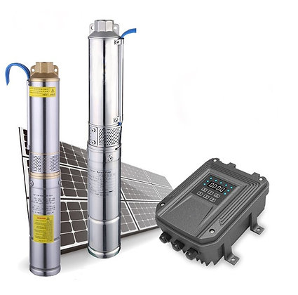 3 inch Solar Submersible Water Pump 300W 24V
