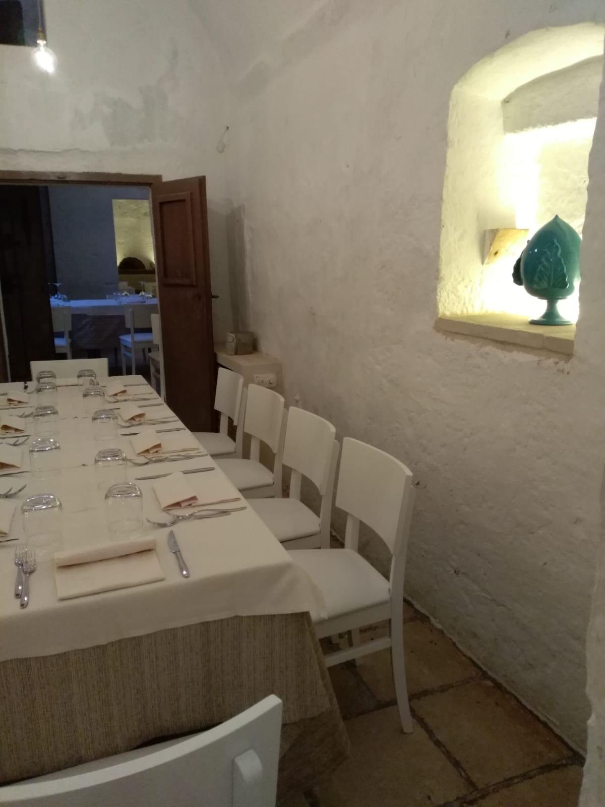 Saletta ristorazione